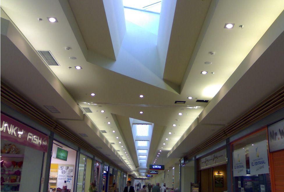 centro comercial el ventanal de la sierra pasillo - generalplan