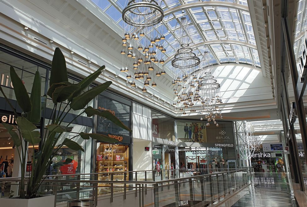 Centro comercial plaza rio 2 interior detalle cupula - generalplan