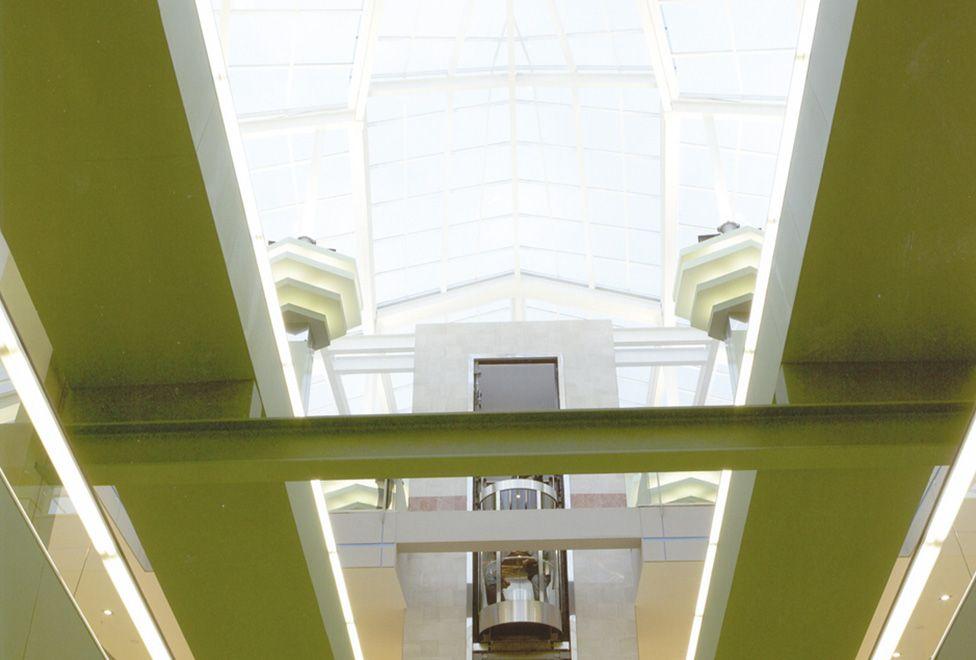 centro comercial el entrego detalle cubierta interior - generalplan