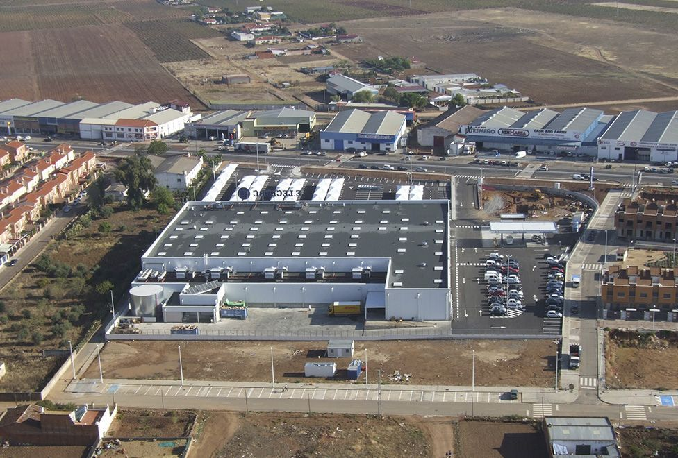 centro eleclerc almendralejo vista aerea 3 - generalplan